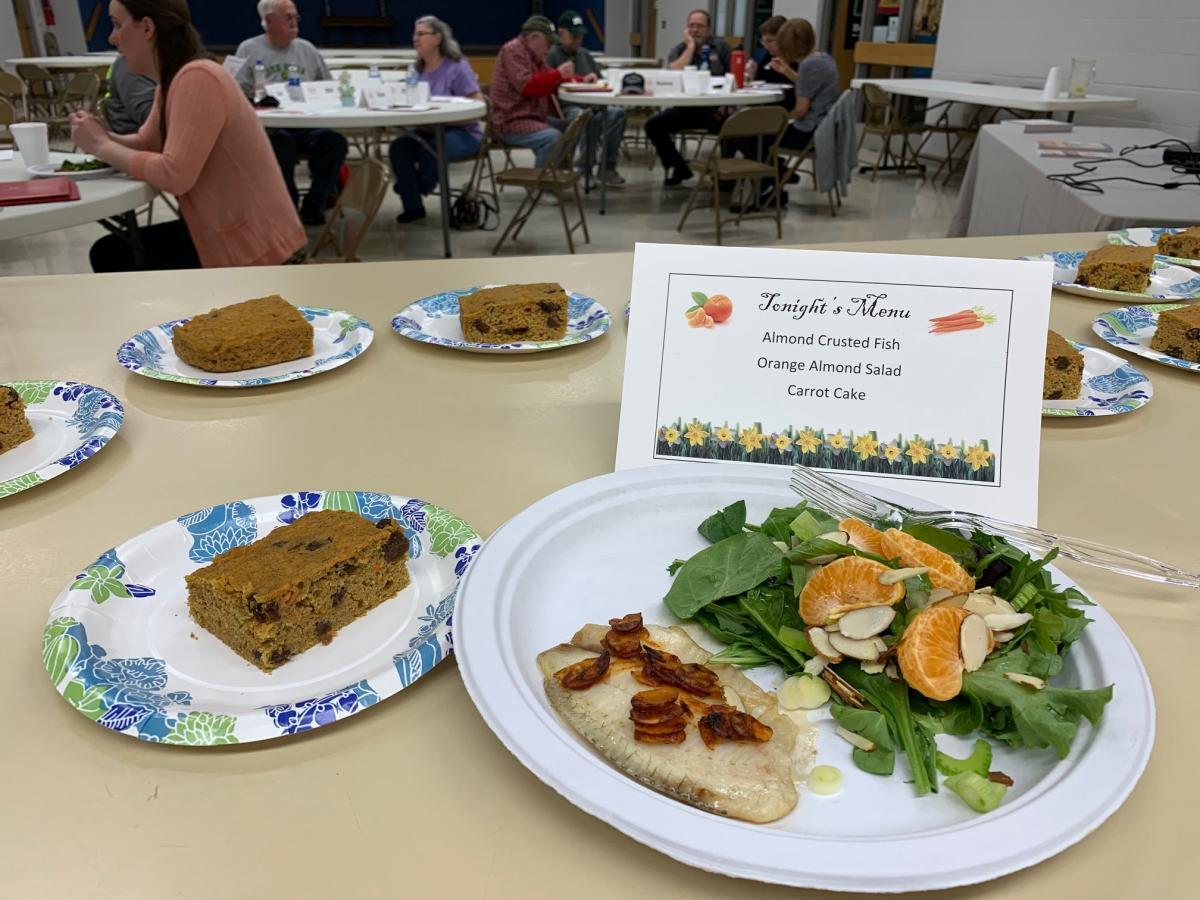 Meal at DWD class