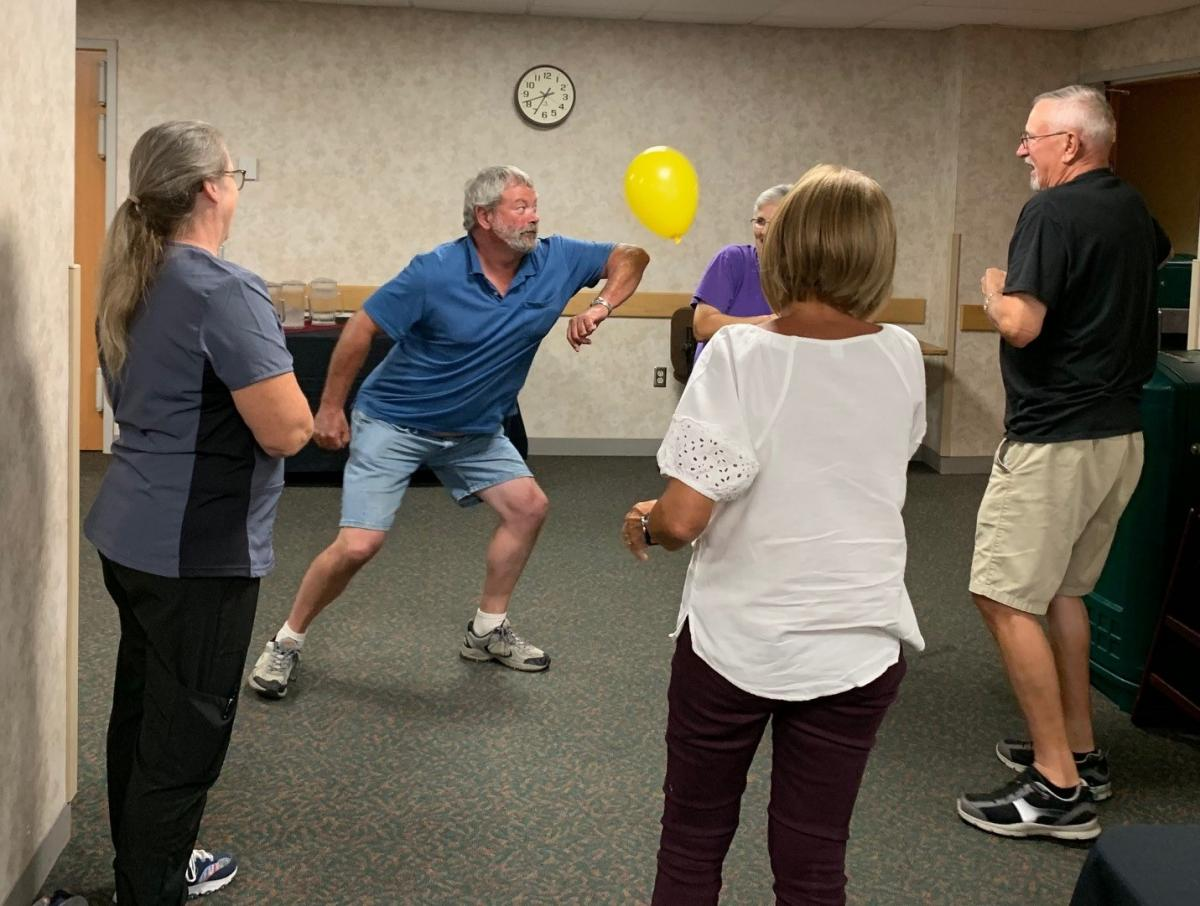 Physical activity at Dining with Diabetes class